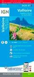 IGN - Valloire Aiguilles d'Arves Col du Galibier - 1/25 000.