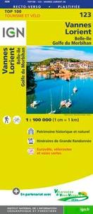 IGN - Vannes, Lorient, Belle-île, Golfe du Morbihan - 1/100 000.