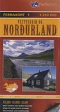 Ferdakort - Vestfirdir og Nordurland, Nord et Nors-Ouest Islande - 1/250 000.