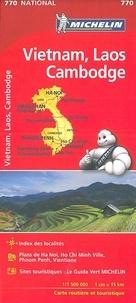Michelin - Vietnam, Laos, Cambodge - 1/1 500 000.
