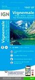 IGN - Vignemale, Ossau, Arrens, Cauterets, Parc National des Pyrénées - 1/25 000.