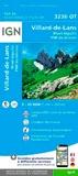IGN - Villard-de-Lans Mont Aiguille PNR du Vercors - 1/25 000.