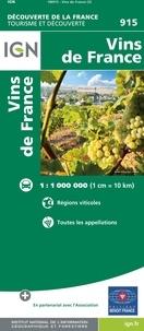 IGN - Vins de France - 1/1 000 000.