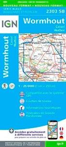 IGN - Wormhout, Cassel, Watten - 1/25 000.