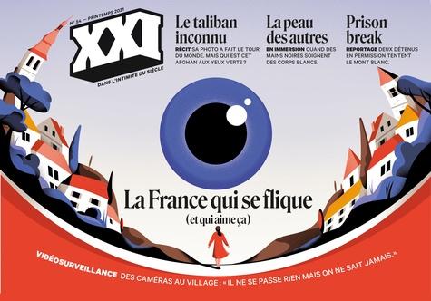 """Léna Mauger - XXI N° 54, printemps 202 : La France qui se flique (et qui aime ça) - Vidéosurveillance des caméras au village : """"il ne se passe jamais rien mais on ne sait jamais""""."""
