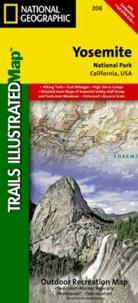 National Geographic - Yosemite, National Park, California, USA - 1/80 000 ; 1/40 000.