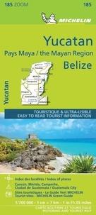 Michelin - Yucatan et Pays Maya Belize - 1/700 000.