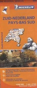 Michelin - Zuid-Nederland / Pays-Bas sud - 1/200 000.