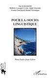 Médéric Gasquet-Cyrus et Alain Giacomi - Pour la (socio)linguistique.