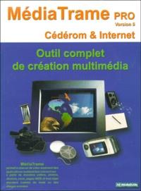 A6-Mediaguide - MediaTrame Pro version 5 - Outil complet de création multimédia, CD-ROM.