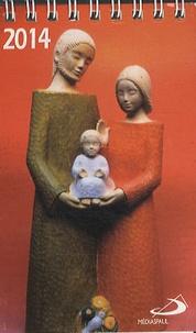 Histoiresdenlire.be Calendrier 2014 mini sculptures d'Yves le Pape Image