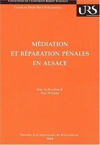 Yves Strickler - Médiation et réparation pénales en Alsace.