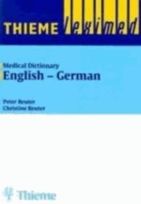 Medizinisches Wörterbuch 1. Englisch-Deutsch. ( Medical Dictionary 1. English - German).