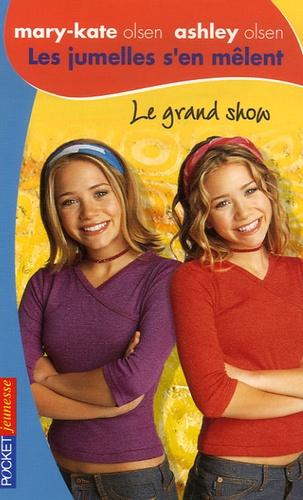 Megan Stine - Les jumelles s'en mêlent Tome 21 : Le grand show.