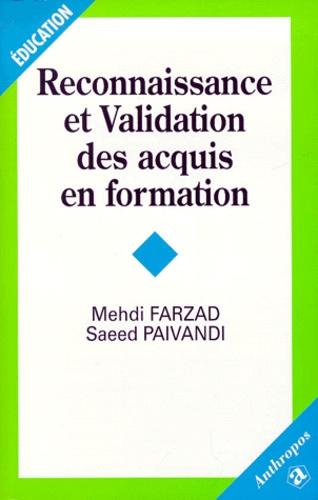 Mehdi Farzad et Saeed Paivandi - .