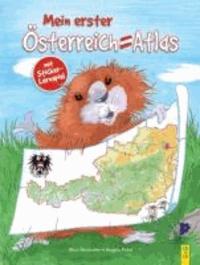 Mein erster Österreich-Atlas - mit Sticker-Lernspiel.