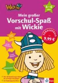 Mein großer Vorschul-Spaß mit Wickie - Erstes Lesen, Erstes Schreiben, Erstes Rechnen, Konzentration 4 - 6 Jahre.