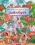 Mein großes Wimmel-Puzzle-Buch - Volksfest - Suchen, Entdecken und Puzzeln - Für Kinder ab 4 Jahren.