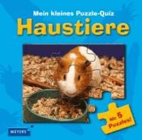 Mein kleines Puzzle-Quiz: Haustiere.