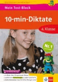 Mein Test-Block 10-min-Diktate - 4. Klasse mit Online-Übungen.