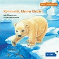 Mein Tierspielbuch: Komm mit, kleiner Eisbär! - Pappbilderbuch mit Schleich-Tierfigur in Spielkoffer.