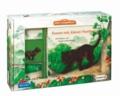 Mein Tierspielbuch: Komm mit, kleiner Panther! - Pappbilderbuch mit Schleich-Tierfigur in Spielkoffer.