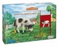 Mein Tierspielbuch: Komm mit, kleines Lamm! - Pappbilderbuch mit Schleich-Tierfigur in Spielkoffer.