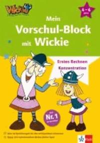 Mein Vorschul-Block mit Wickie - Erstes Rechnen - Konzentration. 4 - 6 Jahre.