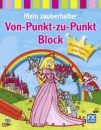 Mein zauberhafter Von-Punkt-zu-Punkt-Block Prinzessinnen und Feen.