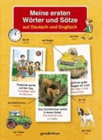 Meine ersten Wörter und Sätze auf Deutsch und Englisch.