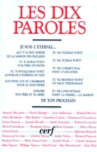 Méïr Tapiero et  Collectif - Les Dix Paroles.