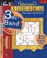 Meister-Sudoku 3er-Band Nr. 3.