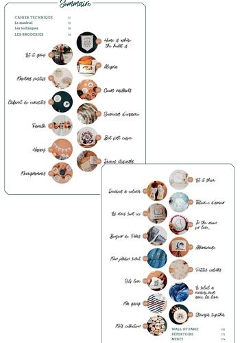 Mots brodés. 45 modèles à broder