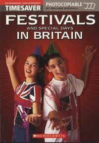 Melanie Birdsall - Festivals and Special Days in Britain.