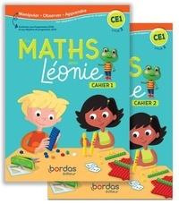 Mélanie Cueto et Caroline Girardot - Les Maths avec Léonie CE1 - 2 volumes : Cahiers 1&2.