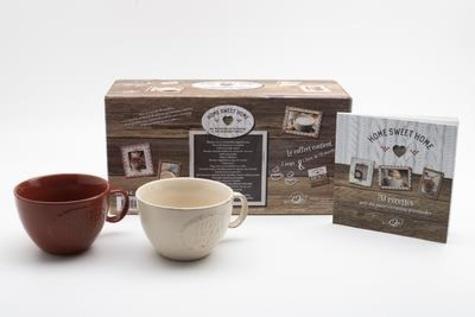 Home Sweet Home. Avec 2 mugs  Edition 2020