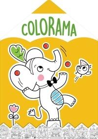 Mélanie Grandgirard - Colorama Eléphant jaune.