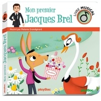 Google book pdf download gratuit Mon premier Jacques Brel 9782809669015 in French