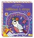 Mélanie Grandgirard - Tableaux à strass - Avec plus de 600 strass et autocollants brillants.