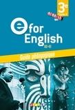 Mélanie Herment - Anglais 3e A2>B1 e for English - Guide pédagogique.