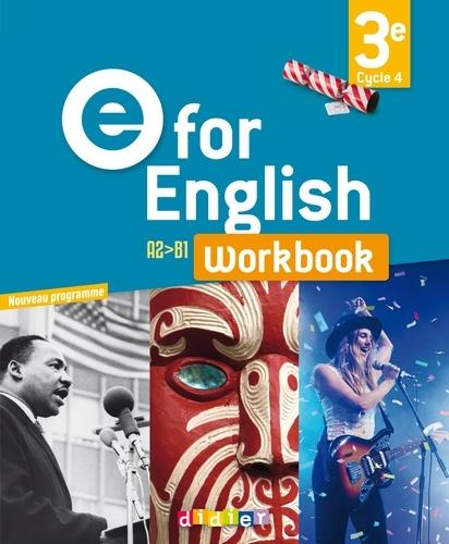 Anglais 3e Workbook E For English Grand Format