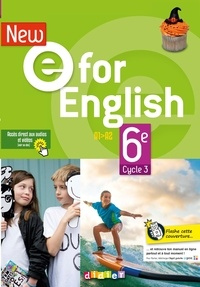 Mélanie Herment et Laura Cursat - Anglais 6e Cycle 3 A1-A2 New e For English.