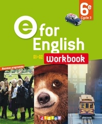 Mélanie Herment - Anglais 6e E for English - Workbook.