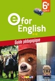 Mélanie Herment - E for English 6e A1-A2 - Guide pédagogique.