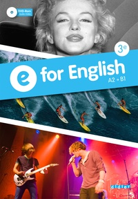 Mélanie Herment - E for English A2-B1 3e. 1 DVD