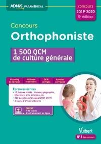 Mélanie Hoffert - Concours orthophoniste - 1 500 QCM de culture générale.