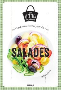 Mélanie Martin et Julie Mechali - Les bonnes recettes pour des salades.