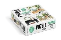 Mélanie Voituriez - La maison green de Mélanie Voituriez - Contient 3 puzzles de 240 pièces chacun.