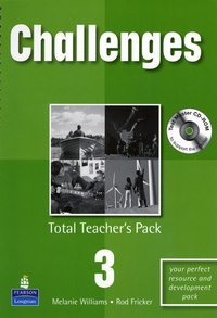 Melanie Williams - CHALLENGES. - TOTAL TEACHER'S PACK 3.