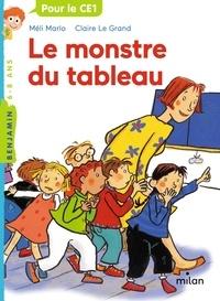 Méli Marlo et Claire Le Grand - Le monstre du tableau.